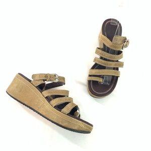 Donald J Pliner leather sandals size 7